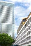 Paesaggio urbano di alta costruzione nella città Fotografia Stock Libera da Diritti