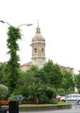 Paesaggio urbano di Amorebieta Immagini Stock Libere da Diritti