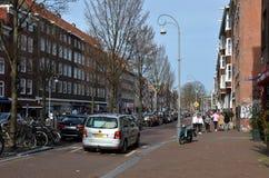 Paesaggio urbano di Amsterdam Fotografie Stock Libere da Diritti