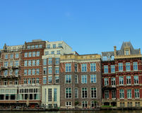 Paesaggio urbano di Amsterdam Fotografia Stock Libera da Diritti
