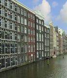 Paesaggio urbano di Amsterdam Immagini Stock Libere da Diritti