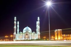 Paesaggio urbano di Astana Astana è la capitale del Kazakistan fotografia stock libera da diritti