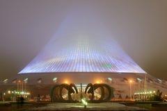 Paesaggio urbano di Astana Astana è la capitale del Kazakistan fotografie stock libere da diritti