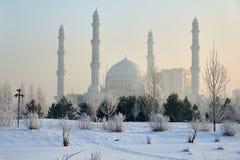 Paesaggio urbano di Astana Astana è la capitale del Kazakistan immagini stock