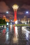 Paesaggio urbano di Astana Astana è la capitale del Kazakistan fotografia stock