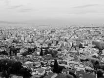Paesaggio urbano di Atene Immagine Stock Libera da Diritti