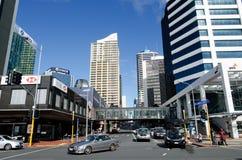Paesaggio urbano di Auckland Fotografie Stock