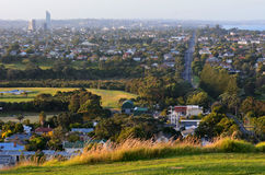 Paesaggio urbano di Auckland - riva del nord Fotografie Stock Libere da Diritti
