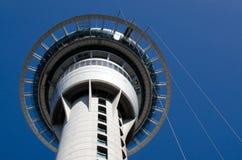 Paesaggio urbano di Auckland - torre del cielo Fotografia Stock Libera da Diritti