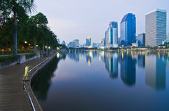 Paesaggio urbano di Bangkok Fotografia Stock