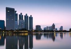 Paesaggio urbano di Bangkok immagini stock