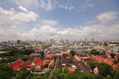 Paesaggio urbano di Bangkok Fotografie Stock Libere da Diritti