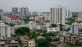 Paesaggio urbano di Bangkok, Tailandia Fotografia Stock Libera da Diritti