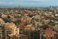 Paesaggio urbano di Barcellona 2 Fotografia Stock Libera da Diritti