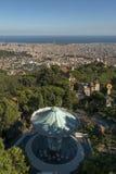 Paesaggio urbano di Barcellona Fotografia Stock