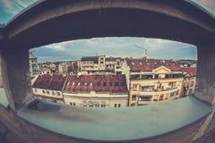 Paesaggio urbano di Belgrado, Serbia fotografia stock libera da diritti