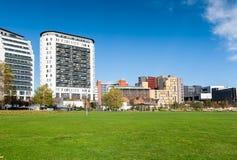 Paesaggio urbano di Birmingham Fotografia Stock