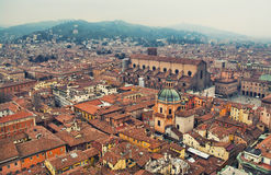 Paesaggio urbano di Bologna Immagine Stock