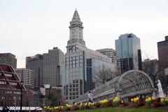 Paesaggio urbano di Boston Immagini Stock