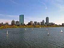 Paesaggio urbano di Boston, particolari di corsa degli S.U.A. Immagini Stock Libere da Diritti