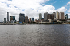 Paesaggio urbano di Brisbane Immagine Stock