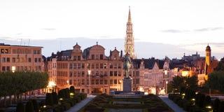 Paesaggio urbano di Bruxelles Fotografia Stock