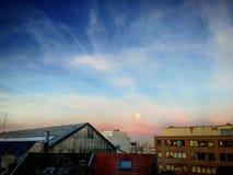 Paesaggio urbano di Bruxelles, capitale del Belgio Immagine Stock Libera da Diritti