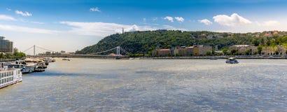 Paesaggio urbano di Budapest fotografia stock