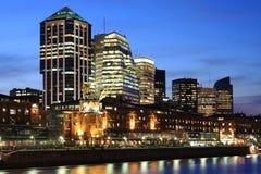 Paesaggio urbano di Buenos Aires immagine stock