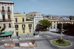 Paesaggio urbano di Cagliari Fotografia Stock