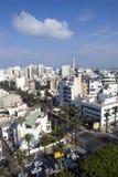 Paesaggio urbano di Casablanca Fotografie Stock Libere da Diritti