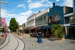 Paesaggio urbano di Christchurch Immagine Stock