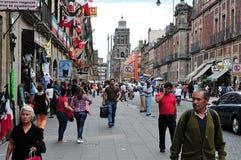 Paesaggio urbano di Città del Messico Fotografie Stock