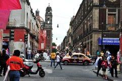 Paesaggio urbano di Città del Messico Fotografie Stock Libere da Diritti