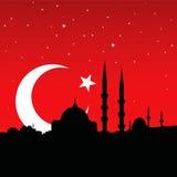 Paesaggio urbano di Costantinopoli Immagini Stock