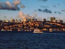 Paesaggio urbano di Costantinopoli immagine stock libera da diritti