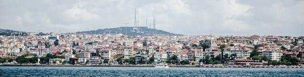Paesaggio urbano di Costantinopoli Fotografia Stock Libera da Diritti