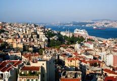 Paesaggio urbano di Costantinopoli immagine stock