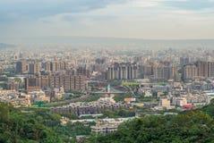 Paesaggio urbano di Dakeng, Taichung Fotografia Stock Libera da Diritti