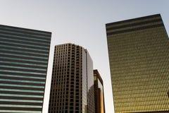 Paesaggio urbano di Dallas fotografie stock libere da diritti