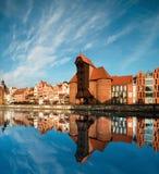 Paesaggio urbano di Danzica fotografie stock