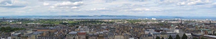 Paesaggio urbano di Edimburgo Fotografie Stock