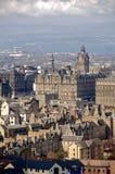 Paesaggio urbano di Edinburgh Immagine Stock Libera da Diritti