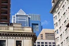 Paesaggio urbano di Filadelfia fotografia stock