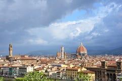 Paesaggio urbano di Firenze Fotografia Stock Libera da Diritti
