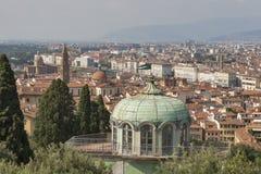 Paesaggio urbano di Firenze, Italia Immagine Stock