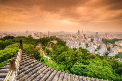Paesaggio urbano di Fuzhou Fotografia Stock