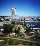 Paesaggio urbano di Gdynia Immagine Stock