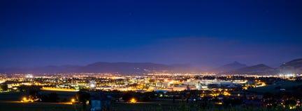 Paesaggio urbano di Ginevra Fotografia Stock Libera da Diritti