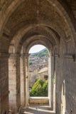 Paesaggio urbano di Gubbio vicino a Perugia (Italia) Immagine Stock